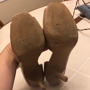 Jessica Simpson Shoes - Jessica Simpson peep toe heels